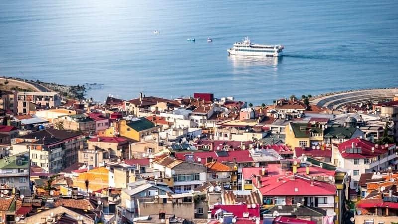 Trabzon'da konaklama yapılacak bölgeler